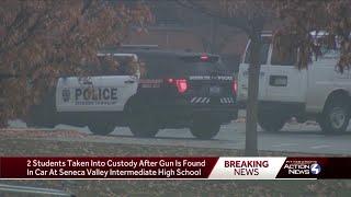 Gun found in Seneca Valley student's car outside school