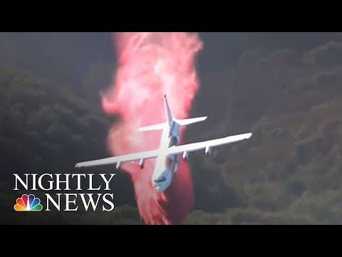 Fight To Save Wine Country Intensifying Amid California's Wildfires | NBC Nightly News