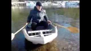 Багажник-лодка на машину