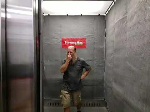 Local Asheville Movers love elevators at Storage Max Hendersonville Road North Carolina
