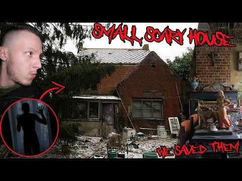 (WE SAVED THEM) Most Terrifying Abandoned House W/OLD CARS & EVERYTHING LEFT BEHIND