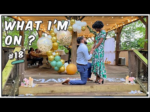 SHE SAID YES!!! Asking Kayla to Marry Me?| PROPOSAL VIDEO ft. Youngladybusiness & Jangha Jagne #