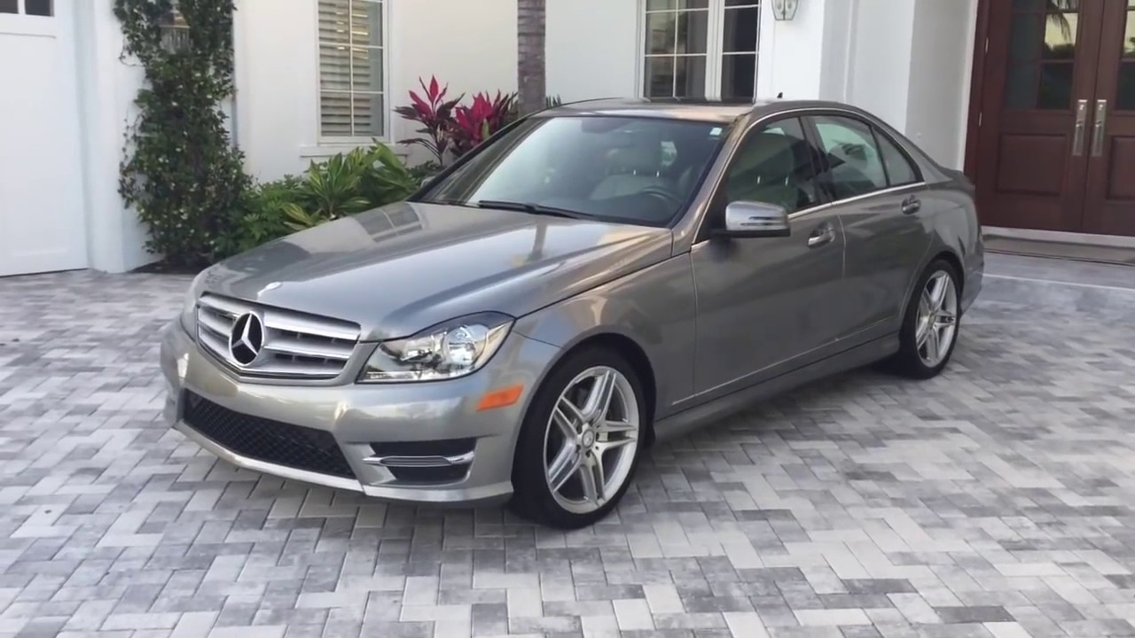2013 Mercedes Benz C350 Sport Review and Test Drive by Bill Auto ...