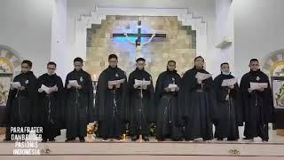 NYANYIKANLAH ALELUYA (Cover Para Frater dan Bruder Pasionis yang berkaul kekal.