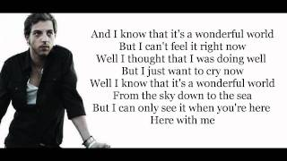 James Morrison - Wonderful World (HD lyrics)