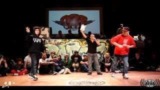 BeTheOne Battle Edition #1 - 8ème de Finale BREAK - LIL ZOO Vs MYST - HKEYFILMS
