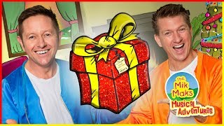 What's In The Box? | Christmas Songs and Nursery Rhymes for Kids | The Mik Maks