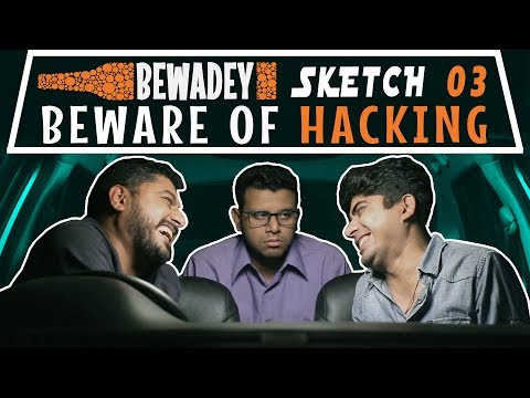 PDT Bewadey | Sketch 03 - Beware of Hacking | Indian Web Series | Comedy | Gaba | Pradhan | Johnny