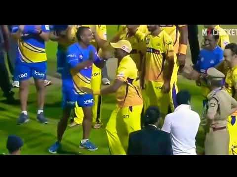 DJ Bravo Comedy Dance IPL 2018Amhi Lagnalu Boyz CSK