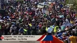 TVes - Llegada de la etapa 5 en la Vuelta al Táchira 2014