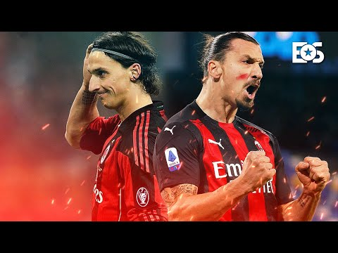 29 Year Old Zlatan Ibrahimovic Was A Beast For AC Milan