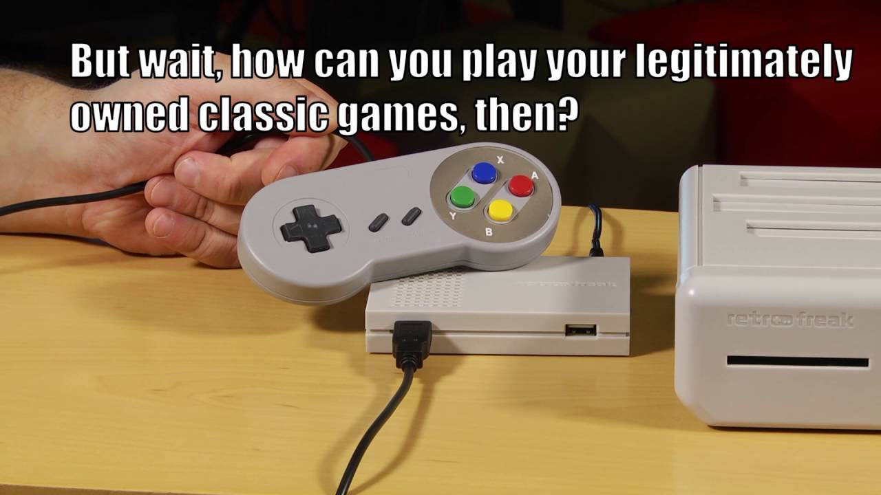 Retro Freak Lets You Rip Your Classic Video Games And Take