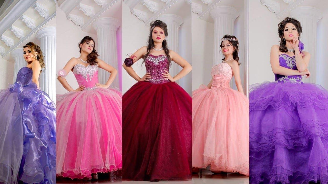 Vestidos para quinceañera // Tips para tu fiesta de quince años ...