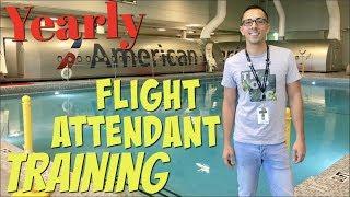 FLIGHT ATTENDANT LIFE | Yearly Flight Attendant Training! I PASSED!!
