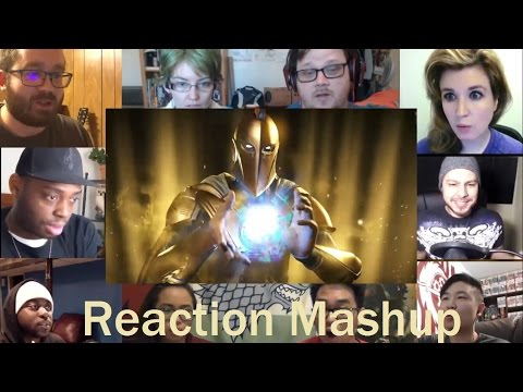 Injustice 2   Doctor Fate Reveal Trailer REACTION MASHUP