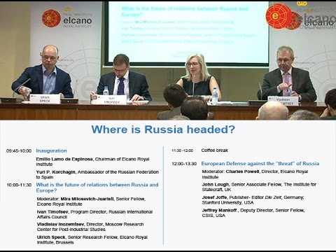 What is the future of relations between Russia and Europe? @rielcano