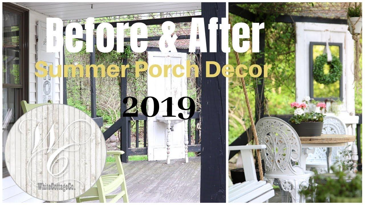 Porch Decor Ideas Summer Porch Farmhouse Porch Decor Porch Swing Installation Youtube