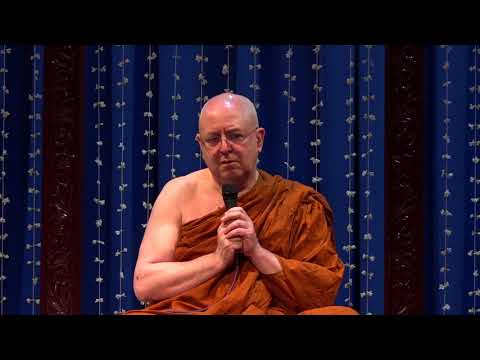 The Importance of Meditation by Ajahn Brahm : 7th Nov 2017 : Dhamma talk at Temple Trees Auditorium