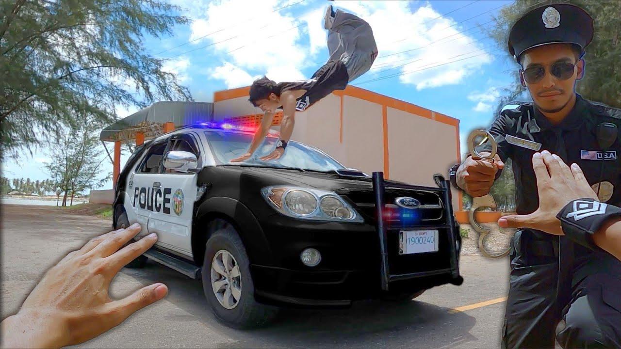 PARKOUR VS POLICE 2020