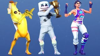 Fortnite All Dances Season 1-9 Updated to Kiss The Cup