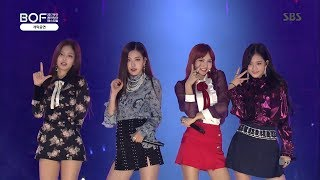 BLACKPINK (PLAYING WITH FIRE + AS IF IT'S YOUR LAST) @ 2017 BOF OPENING CONCERT