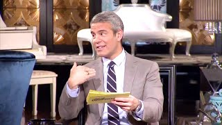 Andy Cohen being Messy/Shady: Reunion Edition