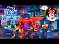 BIG HERO 6 FIRST LOOK AT NEW CHARACTERS in Disney Magic Kingdoms Game