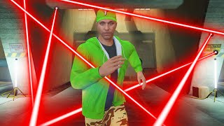 BURNING LASERS vs. DEATHRUNNERS! (GTA 5 Challenge)
