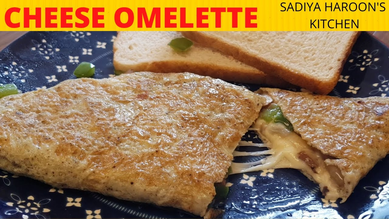 Cheese Omelette Recipe | How to make Cheese Omelette ...