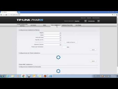 Configuracion modo repetidor router TP-LINK CPE210