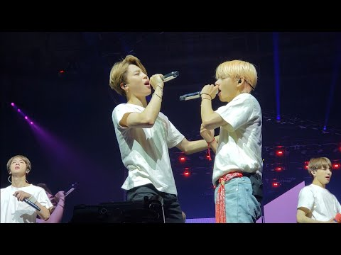 180916 Answer: Love Myself @ BTS 방탄소년단 Love Yourself Tour In Fort Worth Fancam 직캠
