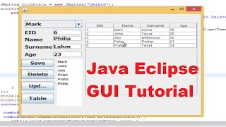 Java Eclipse Gui Tutorial 22 # How To Use Jtabbedpane In Eclipse Java Gui