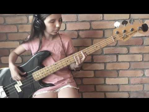 STEVIE WONDER - SUPERSTITION - BASS COVER (WITH TAB)