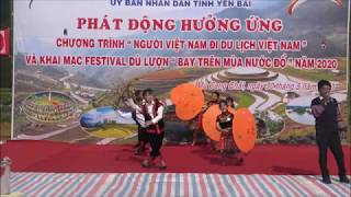 Khai mạc Festival dù lượn bay trên mùa nước đổ Mù Cang Chải năm 2020|| Paragliding Festival opening