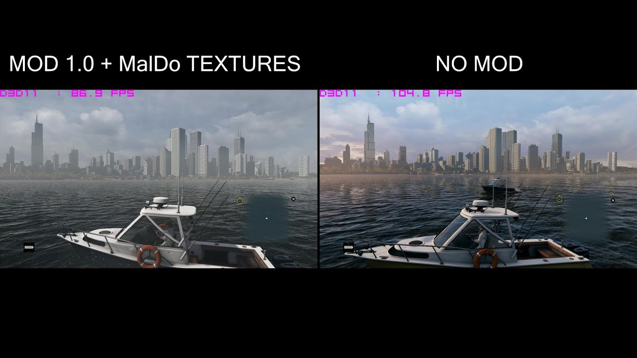 Watch Dogs  High Res Textures Vs Ultra