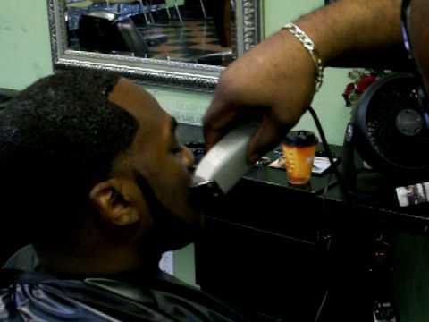 Bigen Black Out Temp Fade Haircut Dye Job Pt 1 Of 2 Youtube