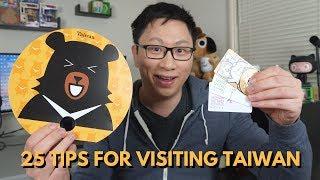 25 Tips for Visiting Taiwan