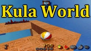 Kula World / Roll Away - PS1 HD Gameplay Let's Play - Stage 01 - 11! With Commentary!