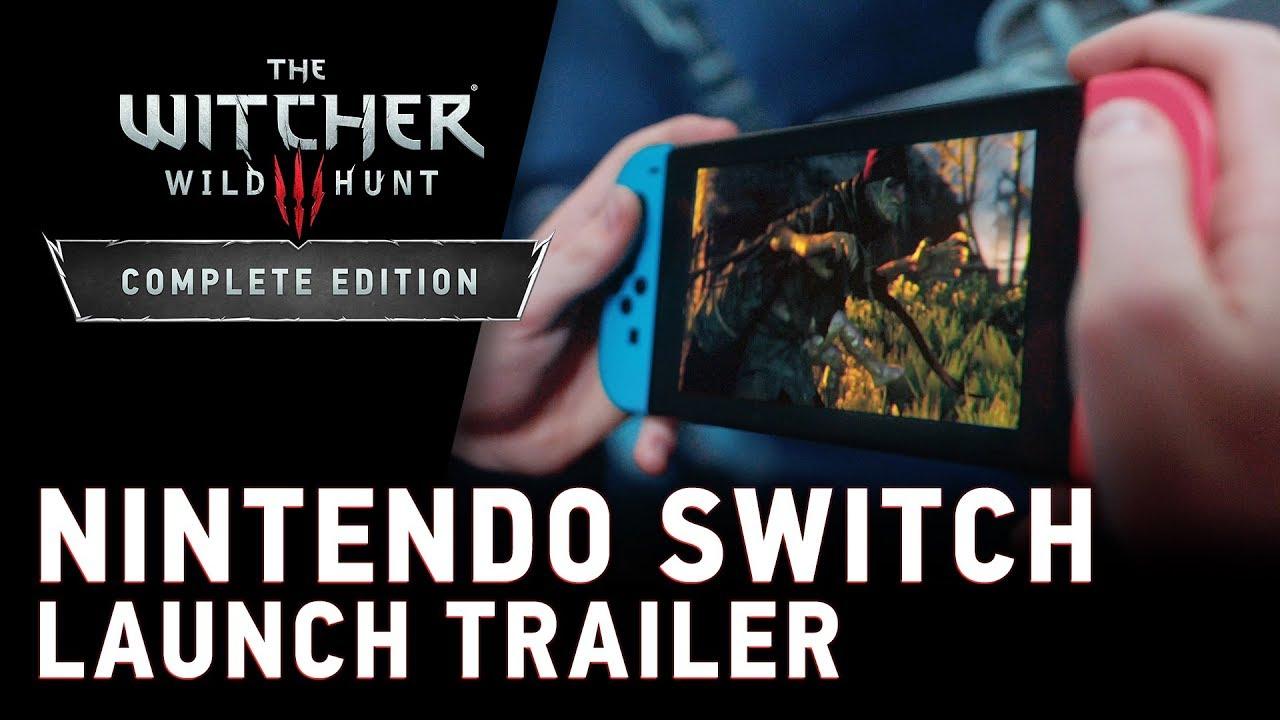 Launch Trailer για το The Witcher 3: Wild Hunt — Complete Edition