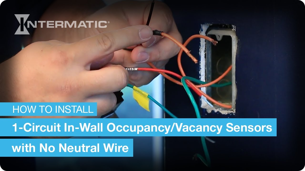 How To Install Intermatic Dsr Dsimf Dpbimf Series 1 Circuit Pole Mounted Security Light Wiring Diagram Occupancy Vacancy Sensors