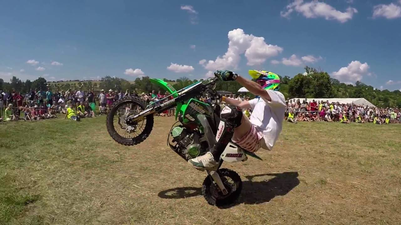 Freestyle Show By Oamcrew Fmx Bmx Pitbike Gopro Edit Youtube