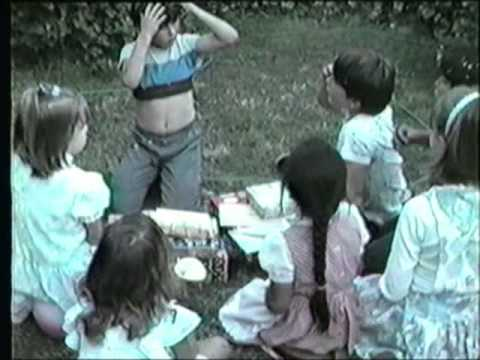Neil's Birthday Party April 1984 Evans, Scheibe, Vannucci San Bruno California