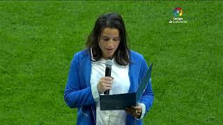 Calentamiento RCD Espanyol de Barcelona vs C.A. Osasuna