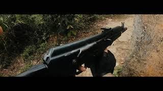 Nerf War:  NEFTGUN VS GELGUN (First Person Shooter 1)
