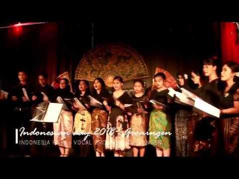 Lagu Indonesia Raya 3 Stanza oleh  Vokal Group PPI Groningen