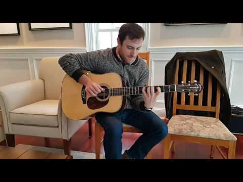 Brooks Robertson Encounters a Wayne Henderson Guitar for the First Time