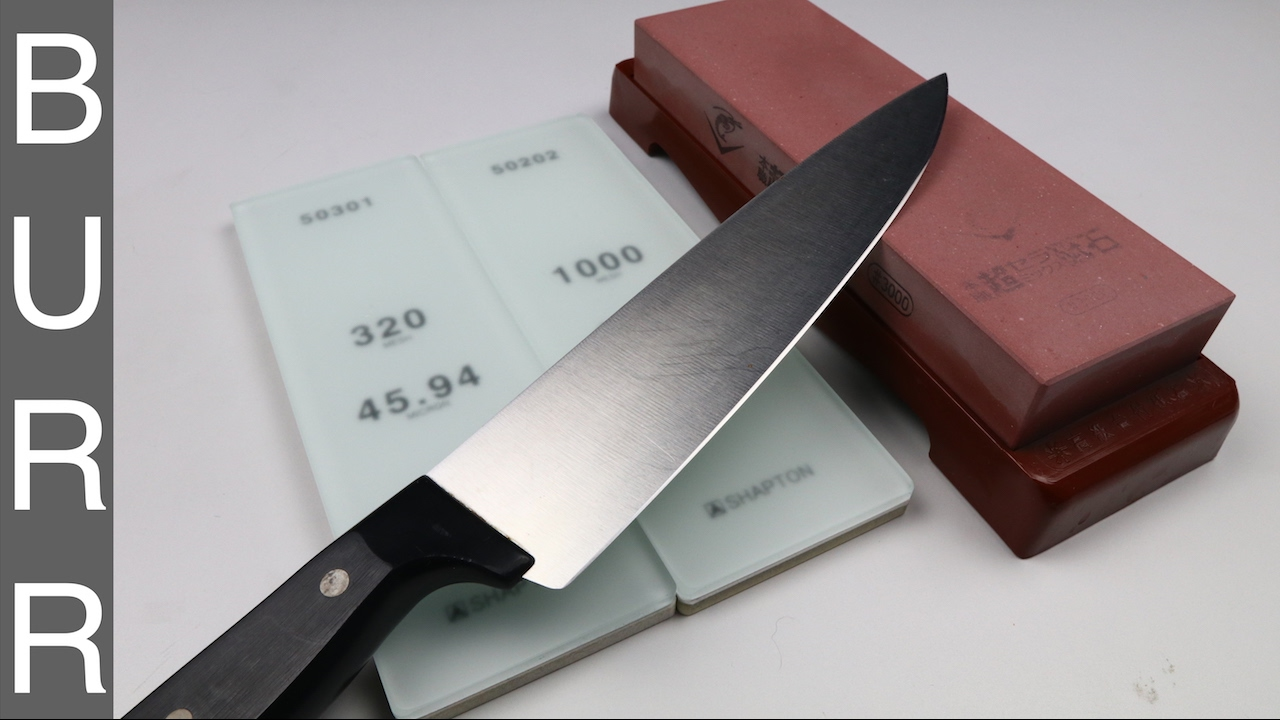 sharpening a dirty old 1 wusthof chef knife to razor sharpness - Wusthof Chef Knife