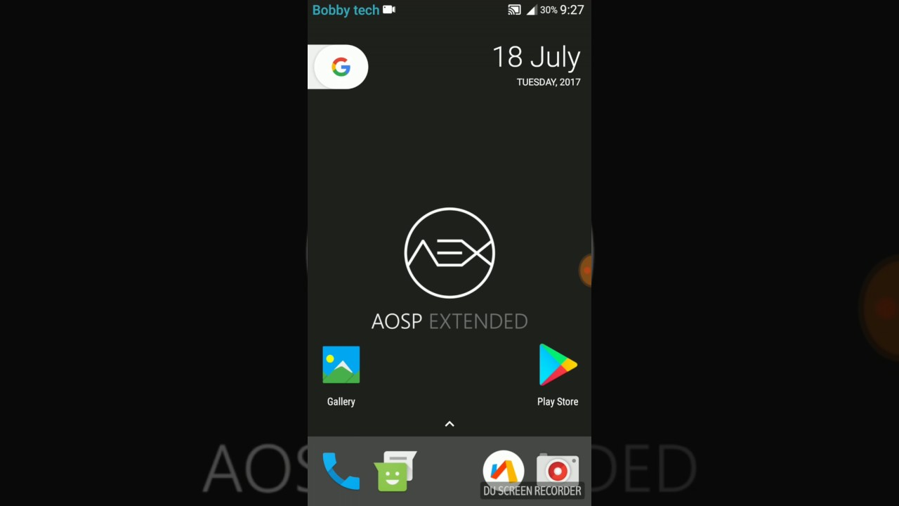 Redmi note 4 Android 7 1 2 AOSP Extended review