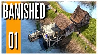Banished - Ep.01 : The Modded Adventure!