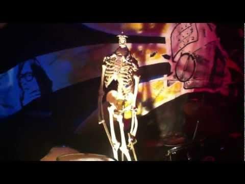 DIY Stage Lighting With Skeleton Drummer